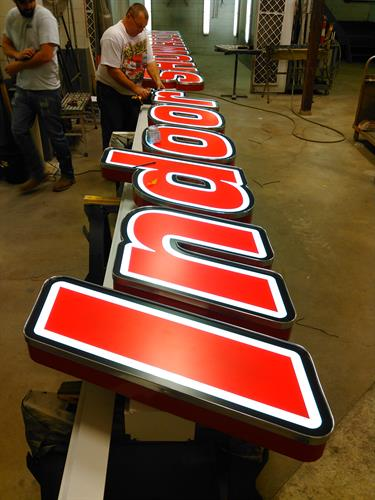 Front Lit Channel Letters for your Building - We can handle that