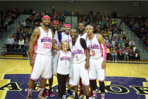The Harlem Wizards is a fun event for the family every October