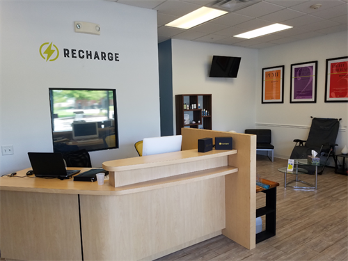 ReCharge Clinic Lobby