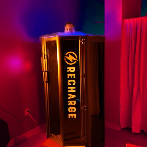 Cryotherapy at ReCharge West Des Moines