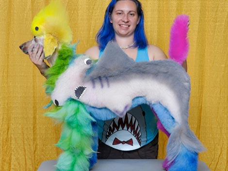 Creative Grooming the Shark-a-Poo