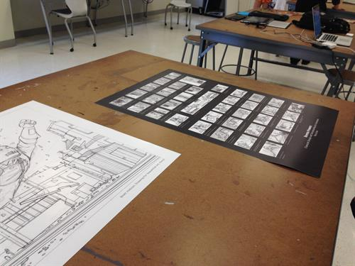 Visiting Savannah College of Art and Design's Sequential Art Department