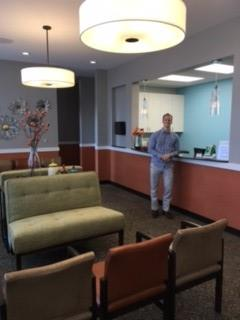 Dr. Joel in Reception