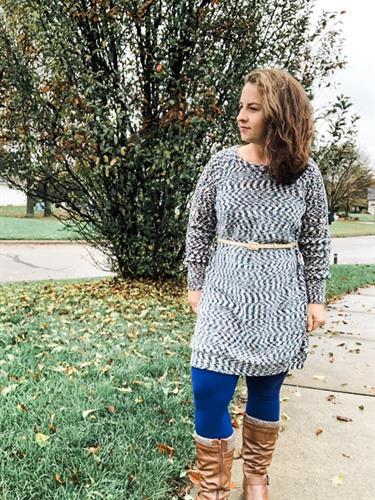 LuLaRoe Lauren sweater dress
