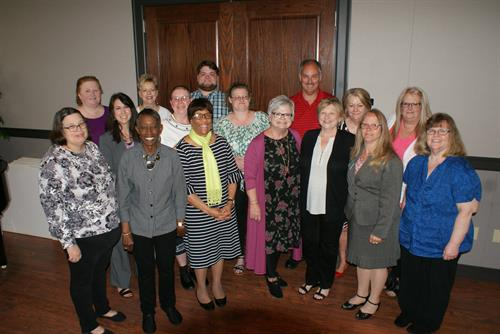 Elder Care Certificate graduates, May 2017