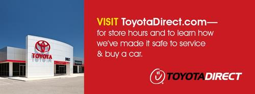 Toyota Direct is committed to continuing to serve our community safely.