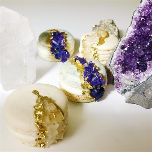 Geode Macarons