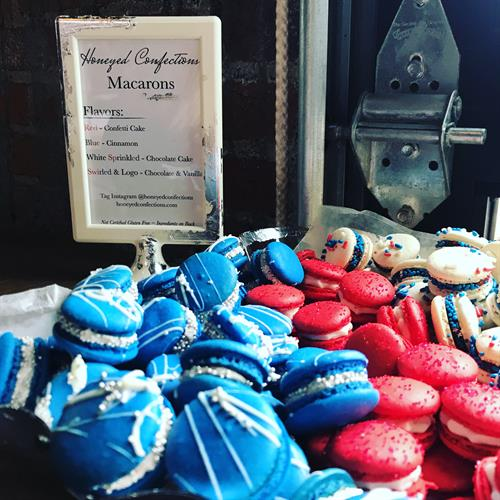 Custom Mini Macarons