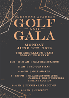 Oakstone Academy Golf and Gala 2019