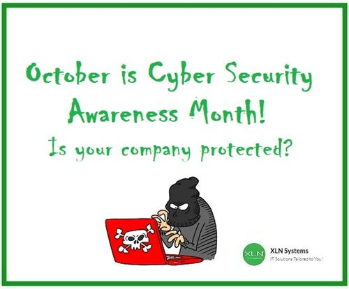 October / Cyber Security Awareness Month