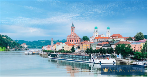 AmaWaterways European River Cruise.  Visit several European towns and only pack and unpack once.  No sea sickness, smaller ships, all inclusive...