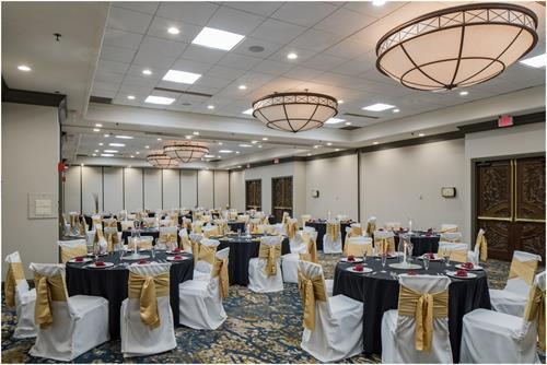 Grand Ballroom - Weddings, Reunions, and more for 200 people