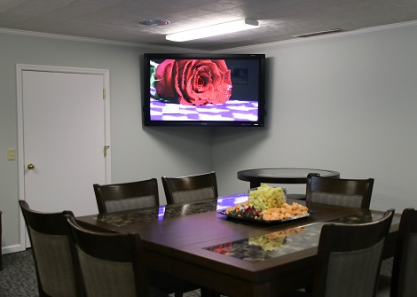 Community room - Big Screen TV for Videos