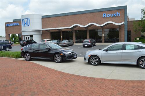 Roush Honda New Car Building (Service area and Parts Counter)
