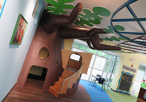 Treehouse in Children's Area