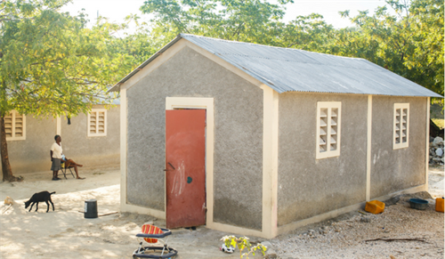 Your support builds homes in Haiti.