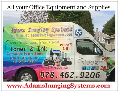 Same day on-site Service and Toner and ink supply delivery.