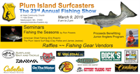 Plum Island Surfcasters 23rd Annual Fishing Show