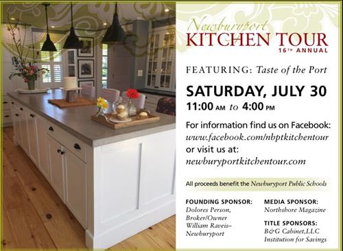 Kitchen Tour volunteer driving event planning and marketing for Nbpt PTO's largest yearly fundraiser