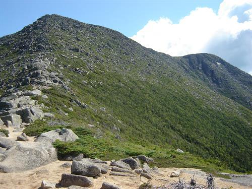 Sumitting Mt. Katahdin