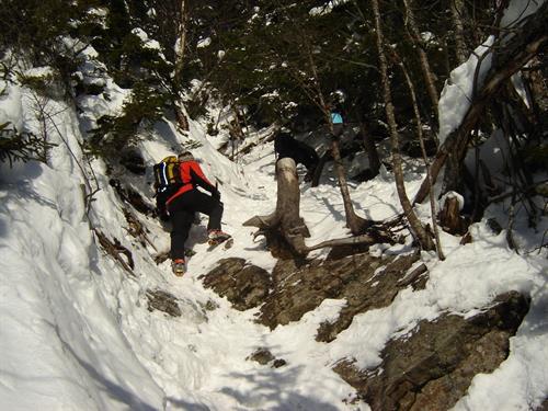 Winter ascent of Mt. Washington
