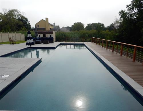 SLS does pools too! Along with patios and decking, outdoor kitchens and fireplaces and more!