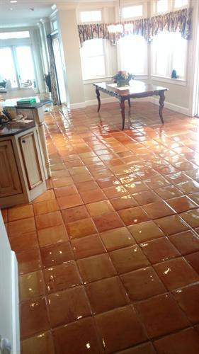 Floor coatings specific to certain flooring types