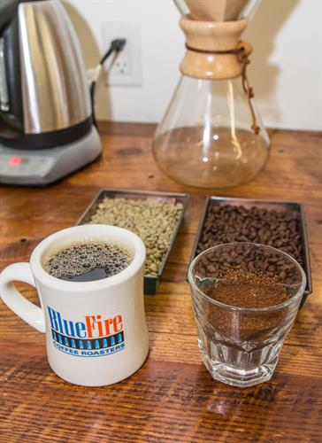 We evaluate every coffee we roast before you drink it!