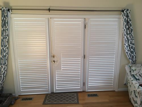 French Door Cut-Out Shutters