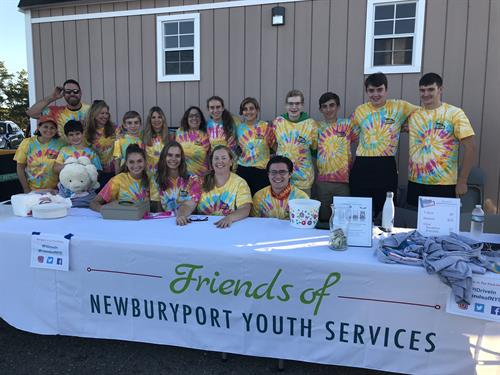 Friends of NYS Plum Island Drive-In volunteers 2018