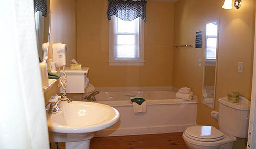 One Room Suite Bath with Jacuzzi Tub