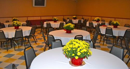 Two private functions rooms - perfect for business meetings/functions or any special occasion.