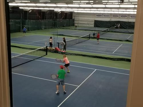 Newburyport Tennis Club - Adult Tennis Clinics, Lessons and Contract Time