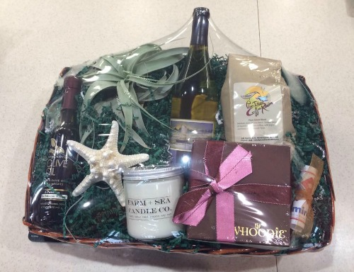 Newburyport Gift Basket. We can customize for your corporate gifts.