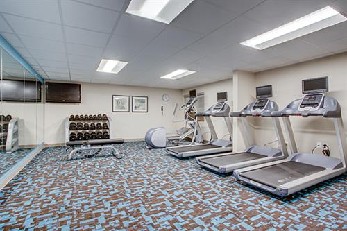 Complimentary 24 Hour Fitness Center