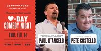 Valentine's Day Comedy Night - Paul D'Angelo and Pete Costello at Newburyport Brewing Co.