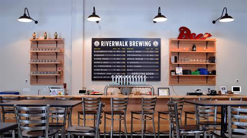2,000 square foot taproom