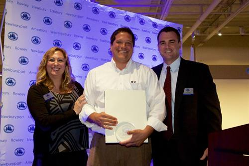 "Newburyport Chamber of Commerce Award 2015 - ""New Business of the Year"""