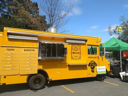 Our ever-popular Food-Truck Metzy's Taqueria