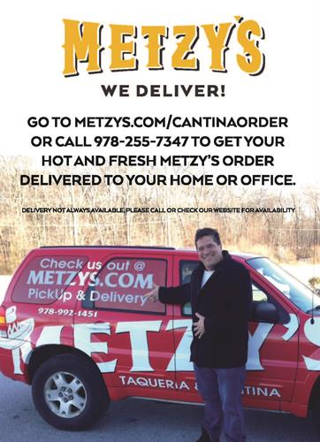 Metzy's Delivers!!