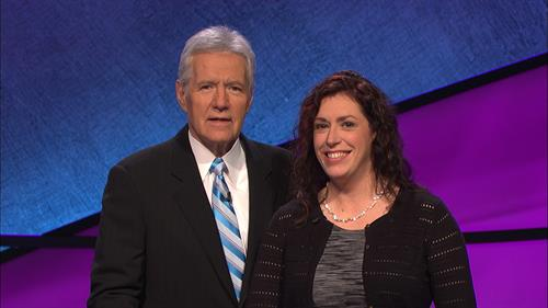 Jill Santopietro Panall, your local Jeopardy! Champion