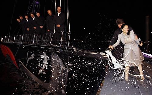 We've christened boats with celebrities