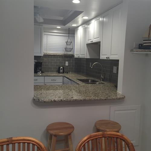 The kitchen was totally remodeled in October 2015.