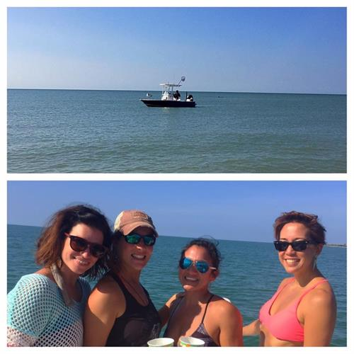 We are not just a fishing charter out of Fort Myers Beach! How about a girl's day out to North Captiva?