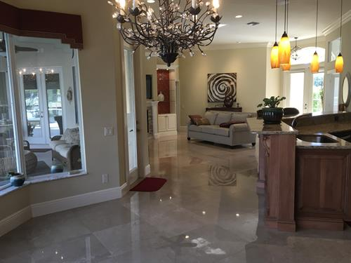 Spacious, Home has Beautiful  imported marble floors
