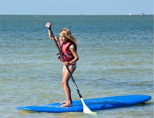 Stand Up Paddle Board instructions and rentals