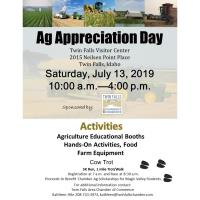 Ag Appreciation Day - Twin Falls Chamber of Commerce