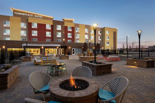 Only Hotel with an Outdoor Patio and Grilling Space