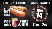Blue Lakes Branch Customer Appreciation Day!