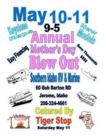 2019 Southern Idaho RV and Marine Annual Mother's Day Keystone Liquidation Event